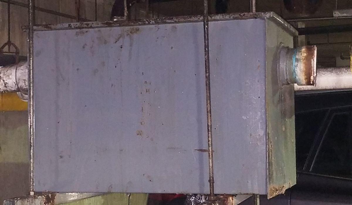 Old Grease Interceptor
