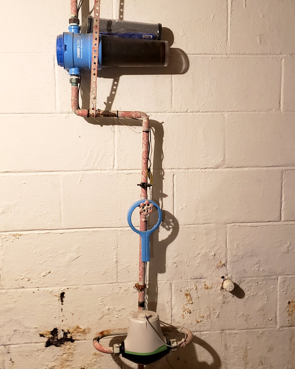 Old Water Filter